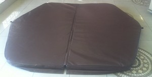 PVC Brown Rim Flow Jacuzzi Cover R 4 000.00