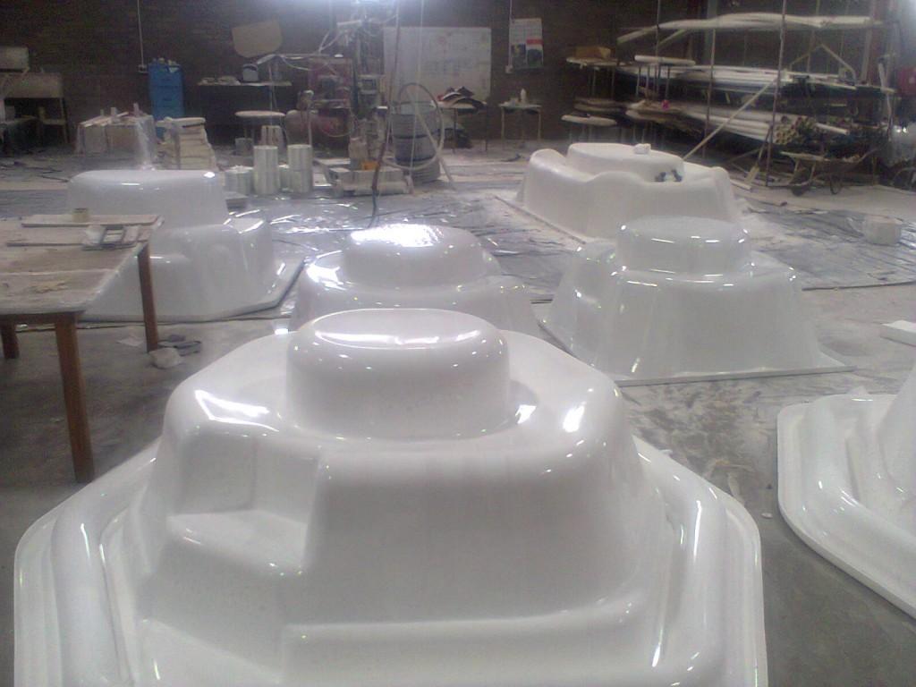 Rim Flow Jacuzzi Ready for Fibre Glass