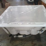 4 Seater Jacuzzi Standing on Factory floor