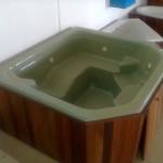 Jacuzzi Wooden Box