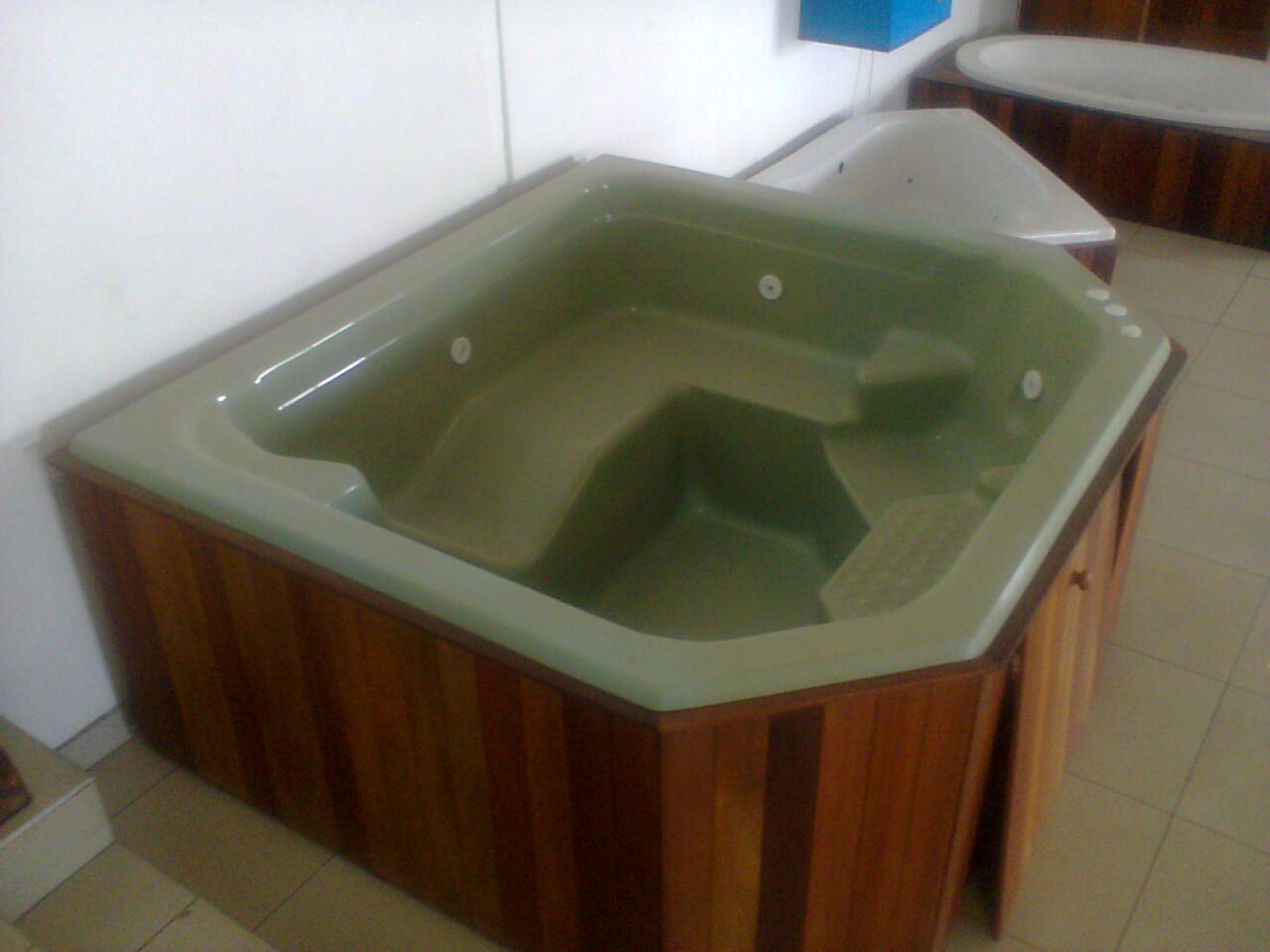 Jacuzzi Wooden Box