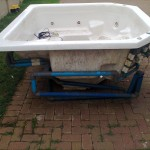 6 - 7 Seater Jacuzzi with Hot Seat on Right